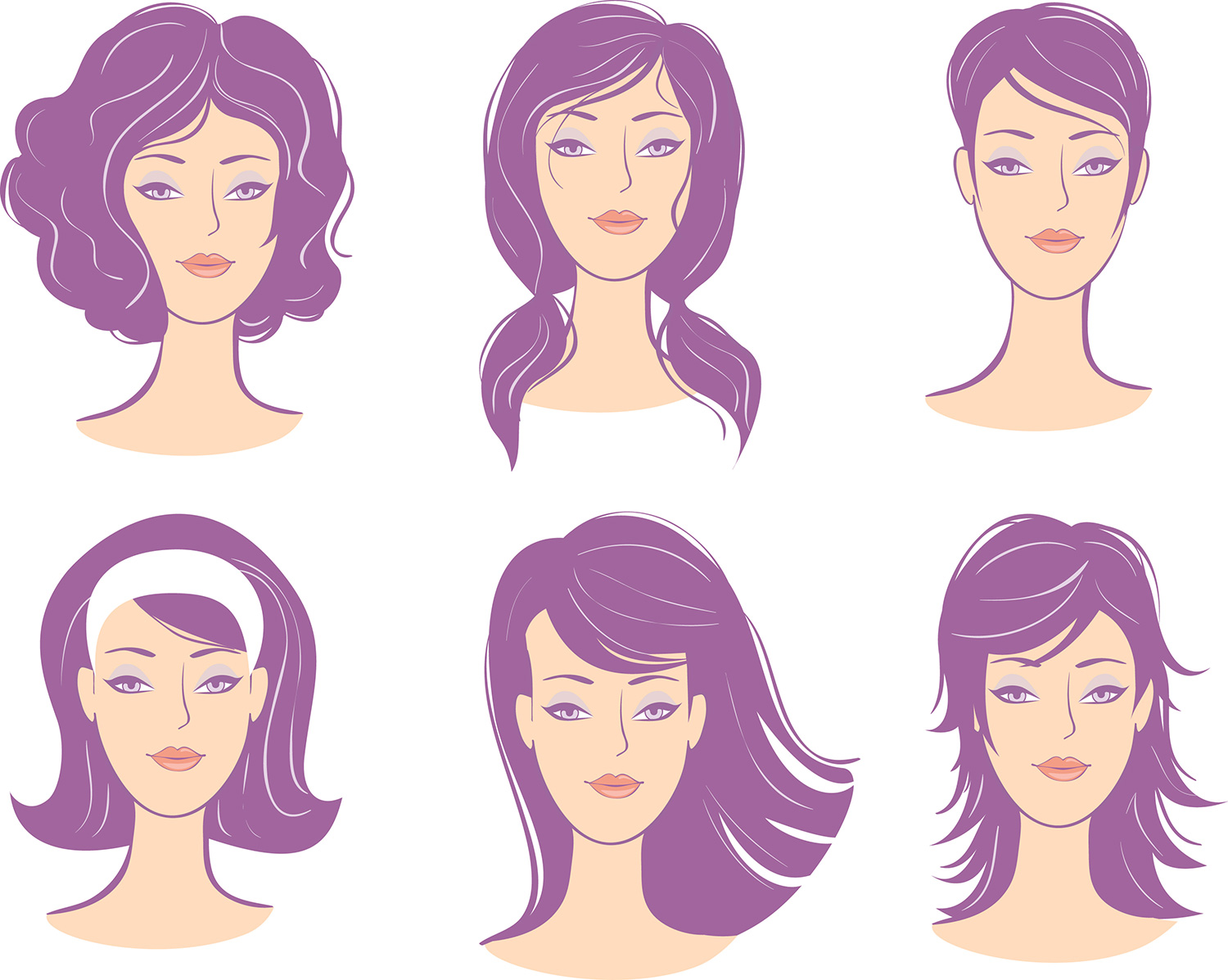 Top Hairstyles For Different Face Shapes - Trending Dubai