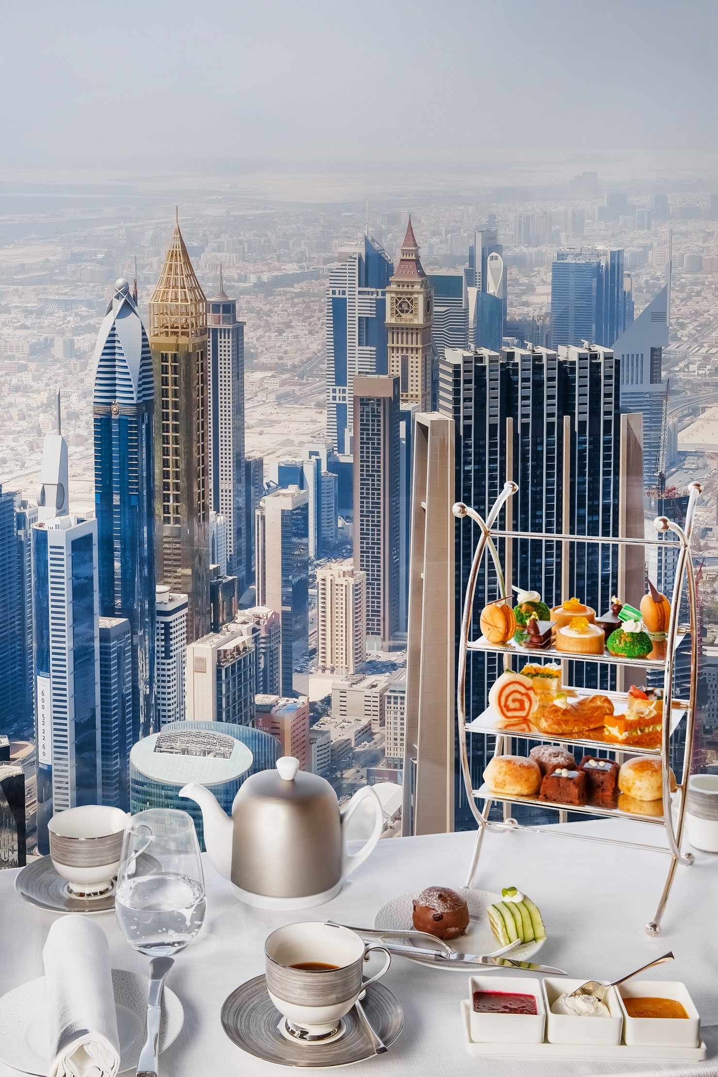Contemporary Afternoon Tea at At.mosphere, Burj Khalifa (2)