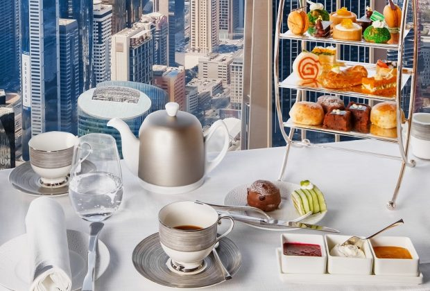 Contemporary Afternoon Tea at At.mosphere, Burj Khalifa