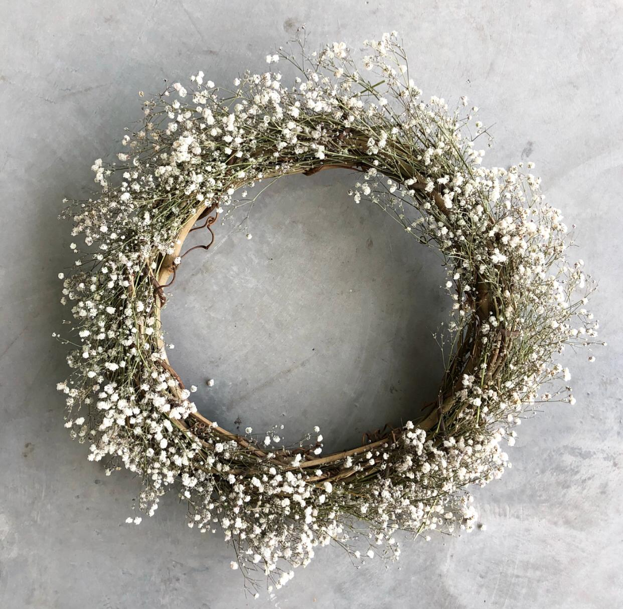 Wreath-making classes with Florette